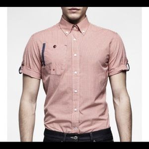G-Star Raw Button Down Short Sleeve Shirt